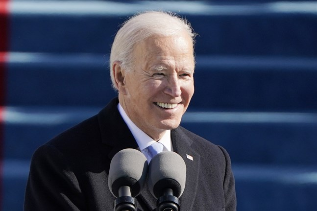 USA:s 46:e president Joe Biden.