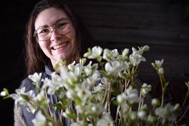 Sandra Neuman har jobbat som florist i elva år och har koll på vårens trender.