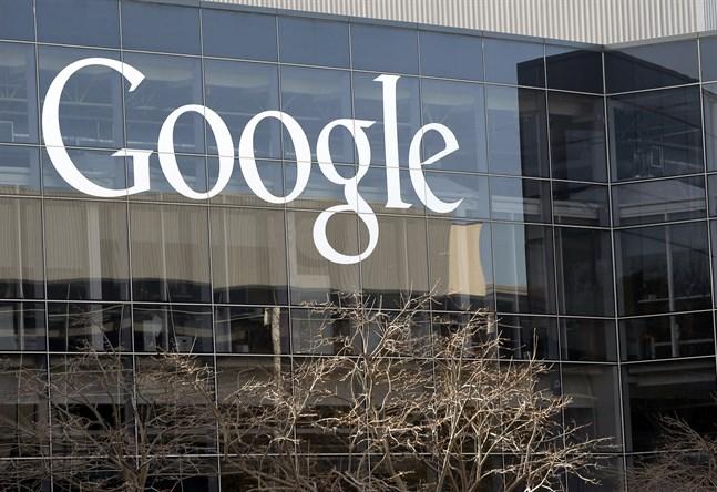 Googles högkvarter i Kalifornien, USA.