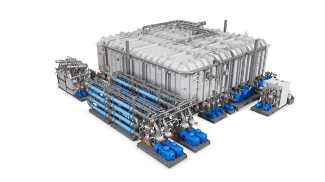 Wärtsiläs bioreaktor tar hand om såväl svart som grått vatten.