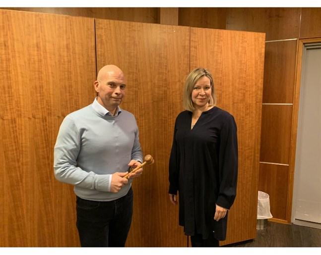 Torbjörn Witting är ny kommodor för anrika GSF. Han efterträder Tanja Risikko.