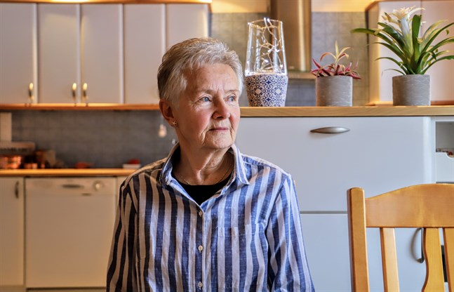 Ulla Maja Filpus har i flera års tid hjälp några iranska familjer som kom i och med flyktingkrisen till Yttermark.