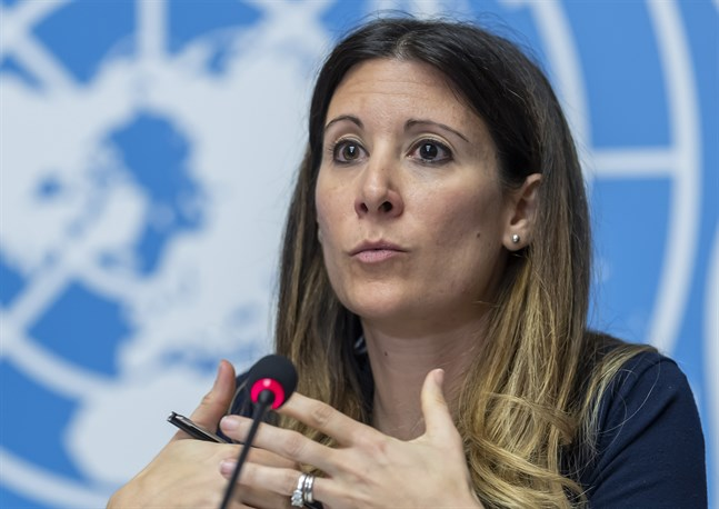 WHO:s Maria Van Kerkhove, som leder organisationens krisarbete kring virusutbrottet. Arkivbild.