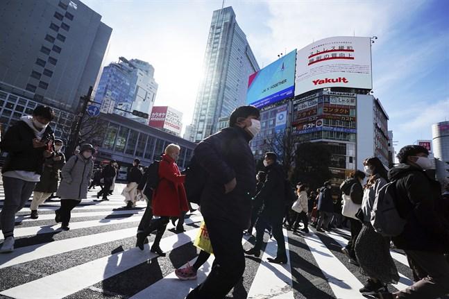 Tokyobörsen öppnade nedåt på tisdagen.