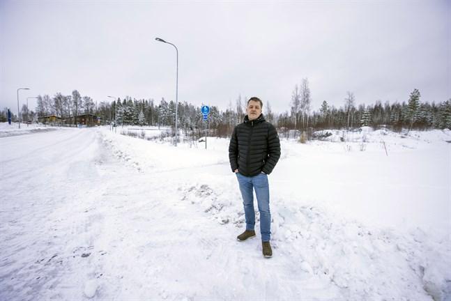 Johan Westergård räknar med att byggstarten kan bli av redan till våren.