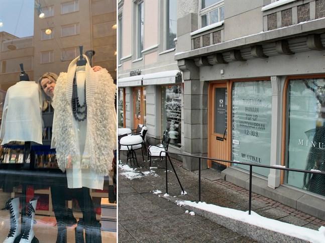 Modedesignern Jaana Varkki-Terho blev positivt överraskad över stämningen i Vasa. Snart öppnar hon en klädbutik i centrum.