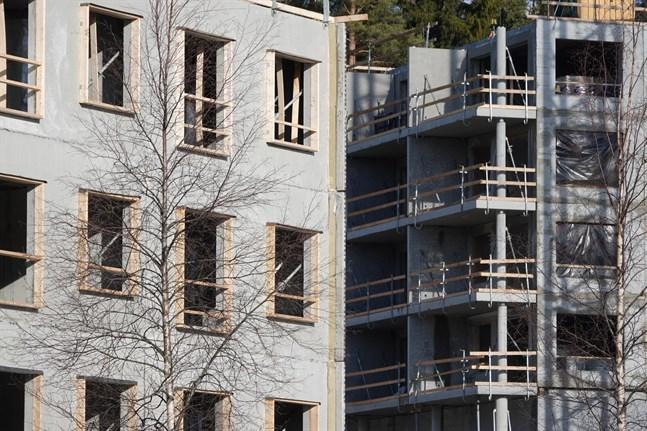 Den finländska byggbranschen hade problem redan före coronaviruspandemin, säger Sami Pakarinen, chefsekonom vid Finlands Näringsliv. Arkivbild.