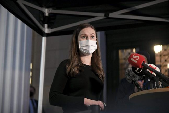 Statsminister Sanna Marin är oroad över de muterade virusvarianternas spridning.