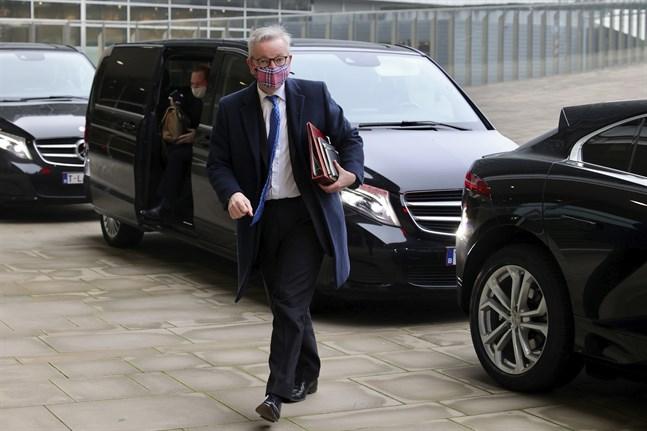 Storbritanniens biträdande premiärminister Michael Gove. Arkivbild.