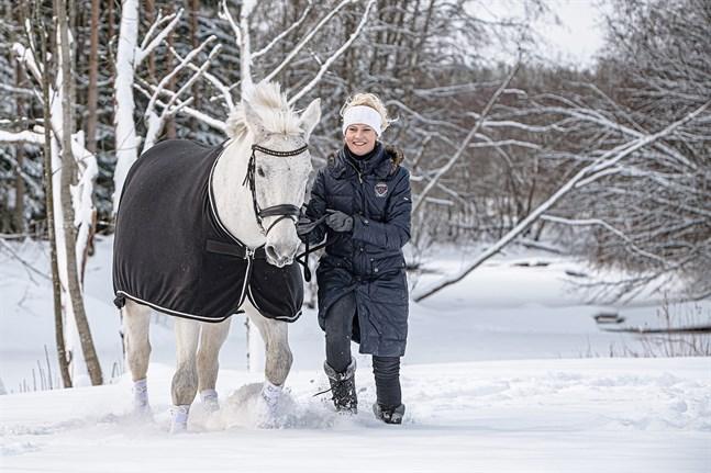I dag 23-årgia NK Unique är utan vidare Jenni Rintalas once in a life time-häst.