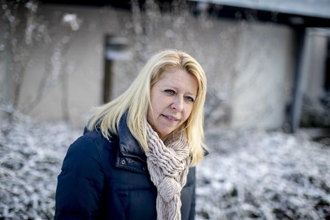 """""""Det har varit ett oerhört ar arbetsamt lågt år. Ett slags oändligt maraton kan det kännas som, med ständigt nya utmaningar"""", säger Maria Palmérius, verksamhetschef på infektionskliniken på Ryhov i Jönköping."""