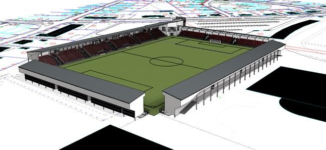 Finansieringen av Jeppis Stadion tog ett viktigt steg framåt efter grönt ljus i Statens idrottsråd.