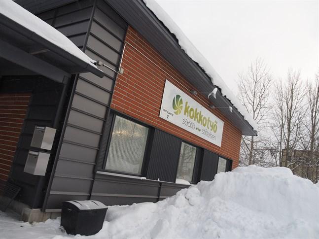 Kokkotyöstiftelsens kontor i Mesil.