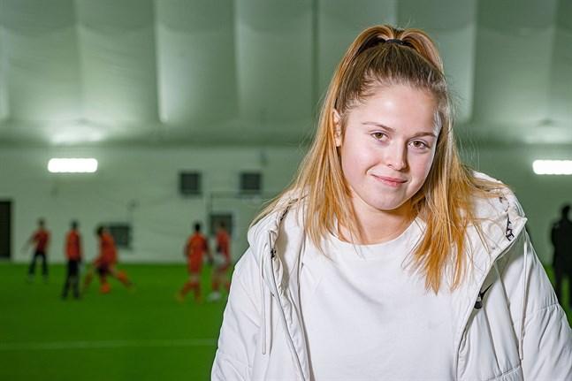 Det blir sannolikt Vasa IFK för mittbacken Amanda Kass, 18, de kommande månaderna.