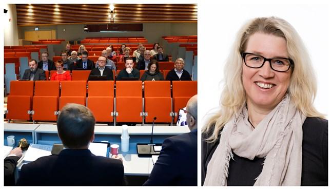 En stor del av ledamöterna har deltagit flitigt i fullmäktigemötena. Ersättaren Micaela Kullas hör också till dem. Hon har varit behövd på många möten.