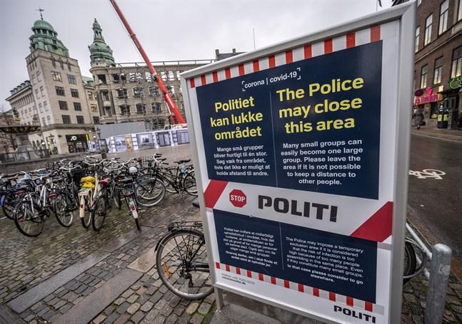 En majoritet av danskarna stöttar de rådande restriktionerna. Arkivbild.