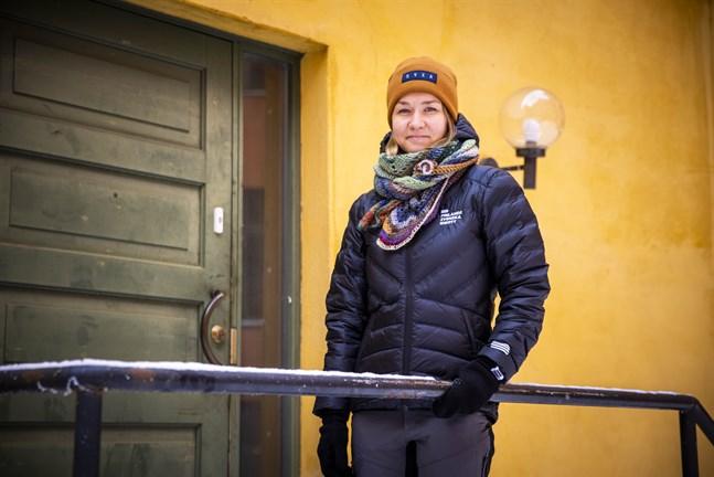 Jonna Skrifvars arbetar med ett projekt som ska förebygga ätstörningar inom idrotten.