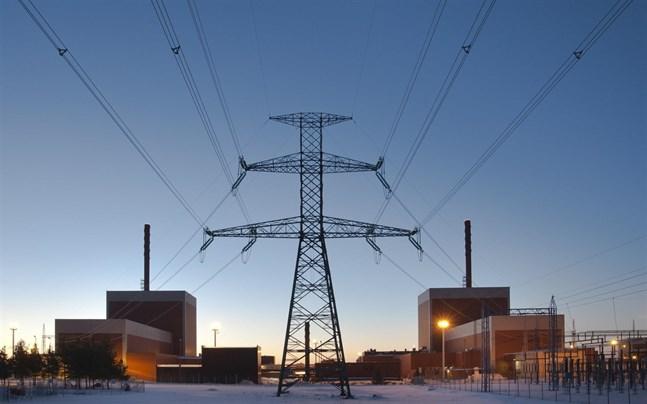 Olkiluoto kärnkraftverk i Euraåminne.