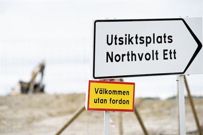 Över 150 personer vid Northvolts fabrik i Skellefteå har smittas av coronaviruset, av dem minst 34 med den så kallade brittiska mutationen. Arkivbild.