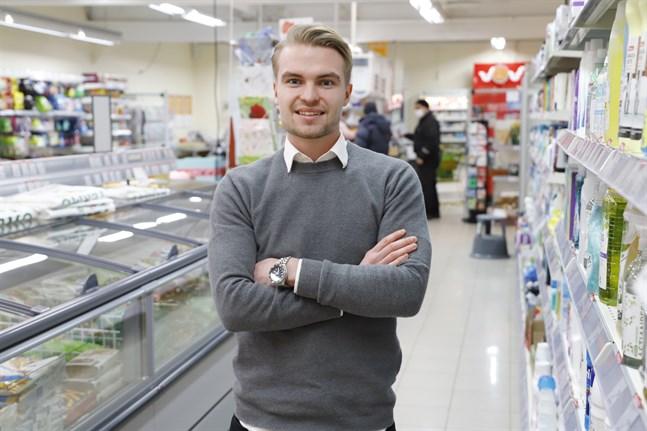 Robin Frisk har mycket att lära sig men har gott stöd från de nuvarande ägarna och andra kontakter i branschen.