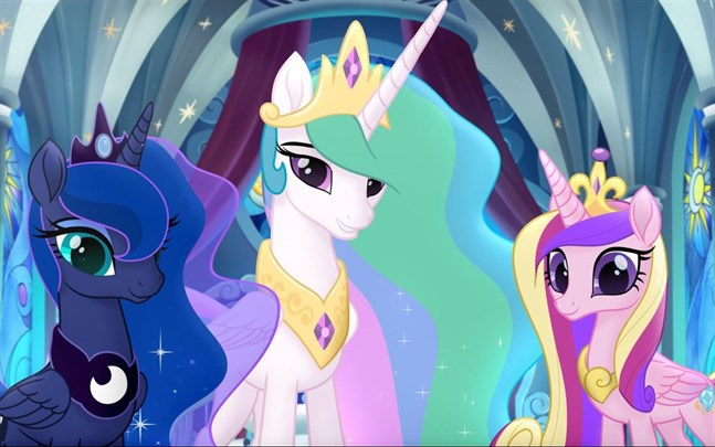 """Den nya """"My Little Pony""""-filmen får premiär på en strömningstjänst."""