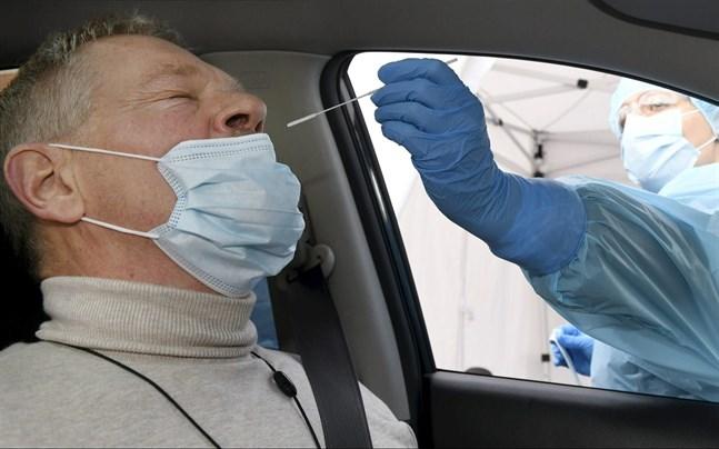 I genomsnitt utförs cirka 420 tester per dag i Österbotten.