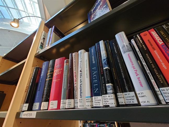 Vilka böcker lånades mest 2020 i Karleby?