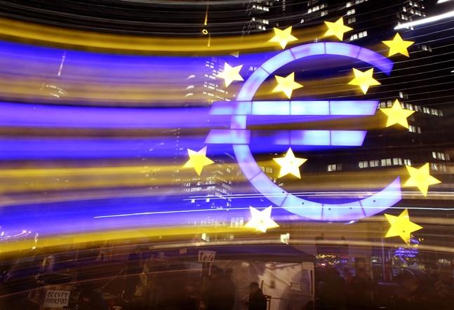 Motvind för eurozonens industri i covid-19-pandemin.