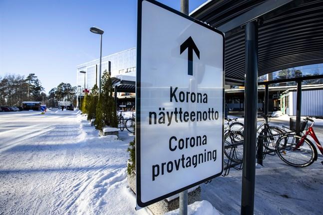 Vasa centralsjukhus fungerar i höjd beredskap med anledning av coronapandemin.