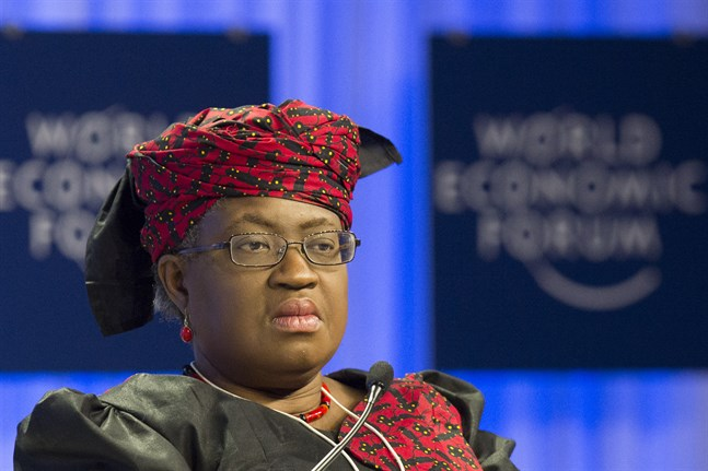 WTO:s nya generalsekreterare Ngozi Okonjo-Iweala från Nigeria. Arkivbild.