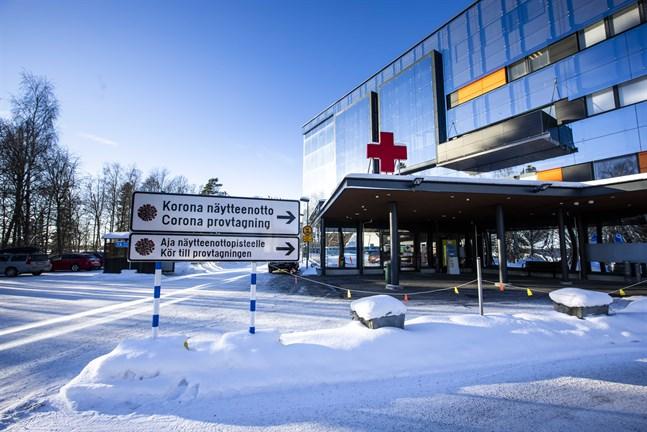 Vasa centralsjukhus har full beredskap med anledning av pandemin.
