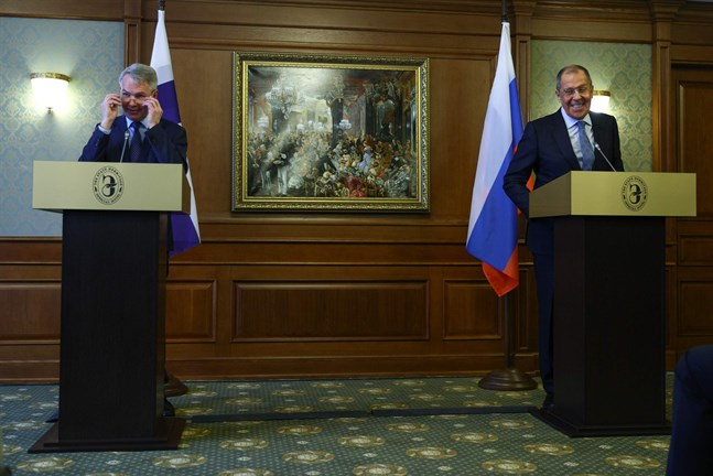 På måndagen möttes Finlands utrikesminister Pekka Haavisto och Rysslands utrikesminister Sergej Lavrov i S:t Petersburg.