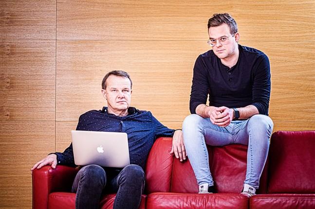 Sören Bäck och Björn Bredbacka.