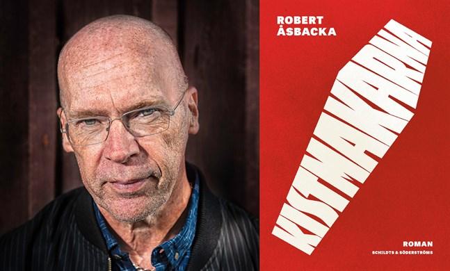 """Robert Åsbacka är aktuell med romanen """"Kistmakarna""""."""