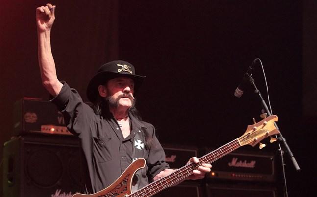 Lemmy Kilmister på en av Motörheads otaliga turnéer.