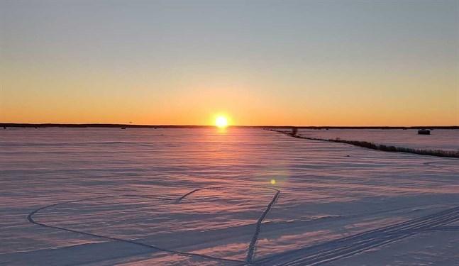 Bild från utsiktstornet vid Söderfjärden.