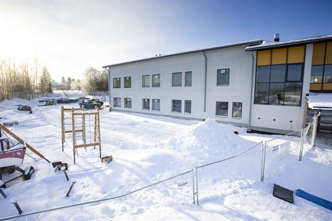 Utbyggnaden av Solf skola har varit smidig.