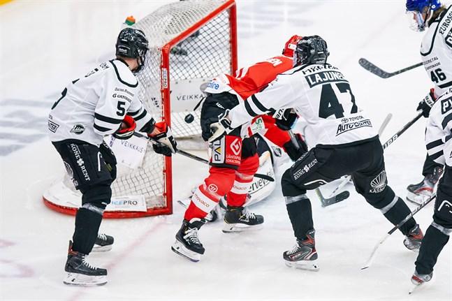 Janne Keränen krånglade in 1–0-målet redan efter 34 sekunder.