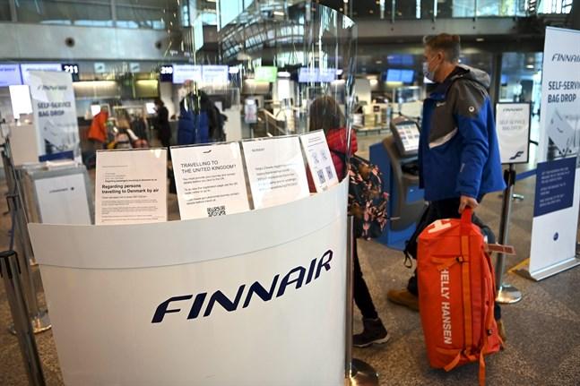 Det har inte varit någon rusning vid Finnairs infodisk under 2020.