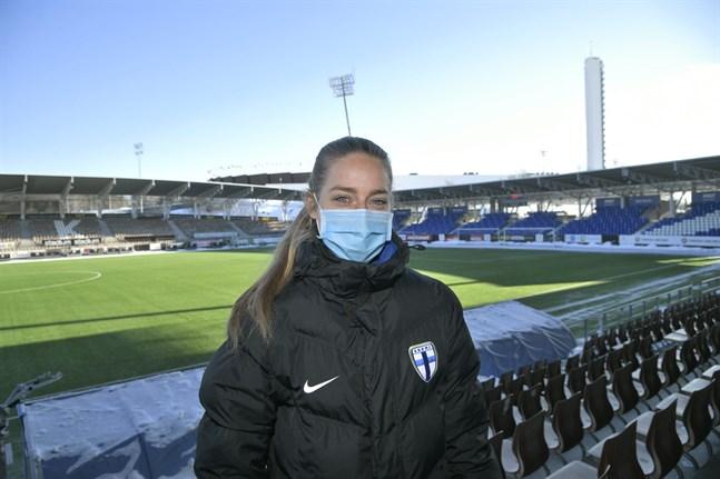 Linda Sällström är en viktig kugge i det finländska landslaget som möter Portugal på fredag kväll klockan 18.15.
