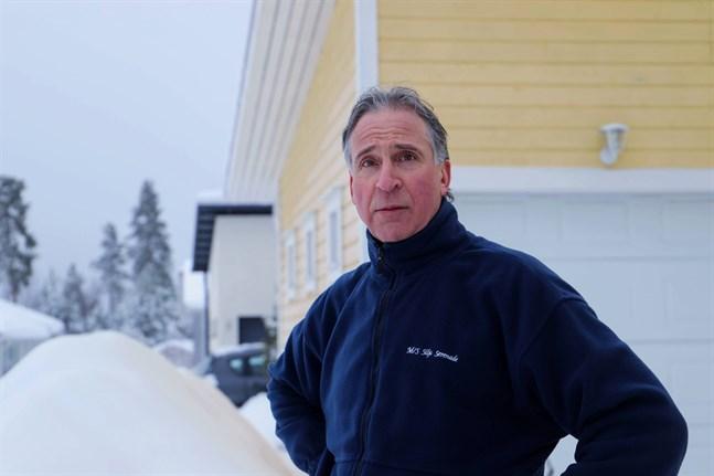 – Man blir så förbannad och besviken, säger Olav Bäck som bor i Forskärr.