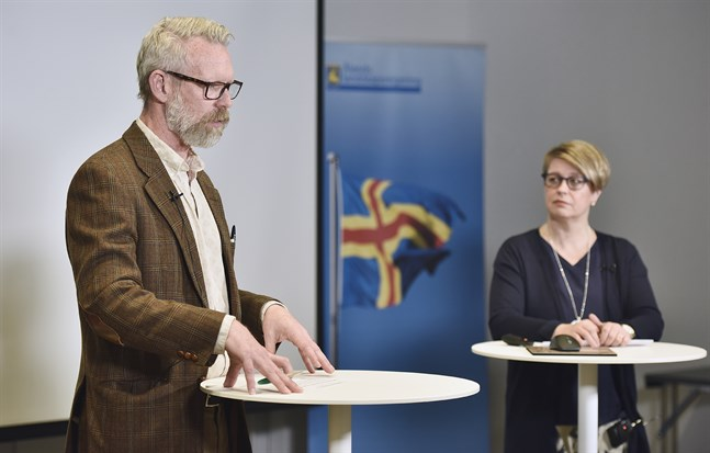 Arkivbild. Landskapsläkare Knut Lönnroth och Åland hälso- och sjukvårdsdirektör Jeanette Pajunen berättade att spridningen har ökat snabbt.