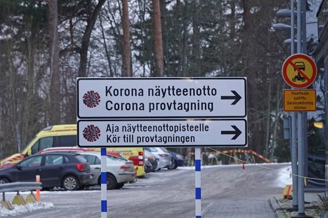 Institutet för hälsa och välfärd rapporterar om 390 nya fall av coronasmitta på måndagen.