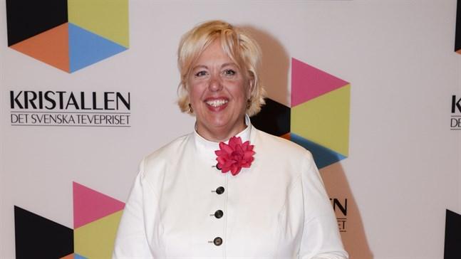 """Suzanne Axell slutar som programledare för SVT:s """"Fråga doktorn"""". Arkivbild från 2016."""