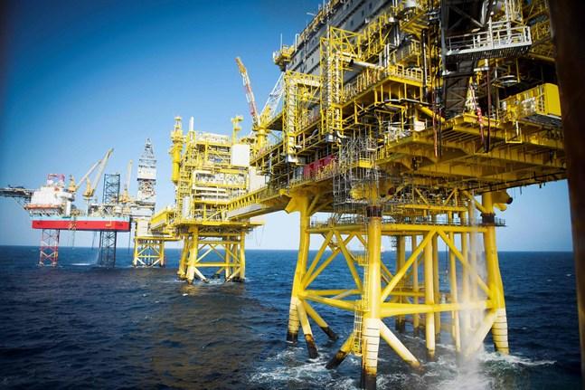 Bland annat bör all nordisk oljeproduktion få ett slutdatum, anser de nordiska naturskyddsföreningarna. Bilden är från Nordsjön.