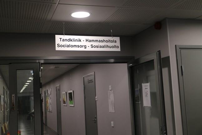Larsmo tandklinik ligger på andra våningen i Equity. I samma lokala finns också bland annat barn- och mödrarådgivning.