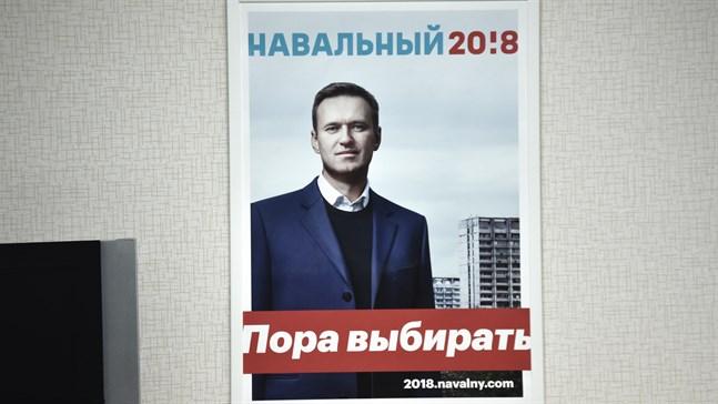 Den ryske fängslade regimkritikern Aleksej Navalnyj ses inte längre som samvetsfånge av Amnesty, på grund av uttalanden han tidigare gjort. Arkivbild.