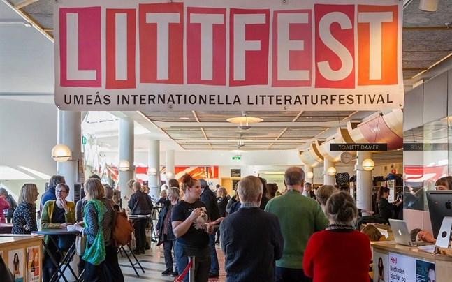 Littfest i Umeå blir digital i år.