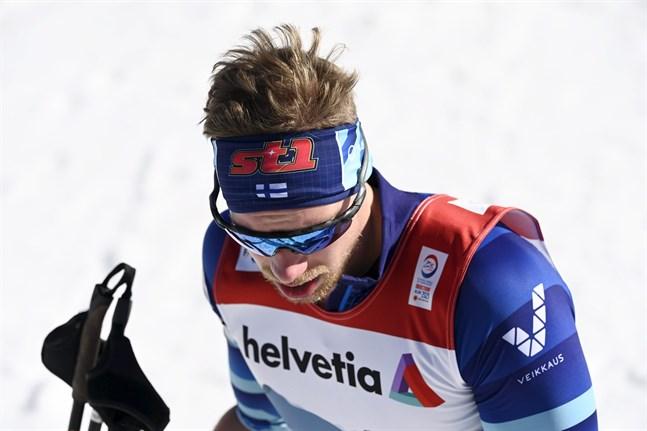 Sprint var Joni Mäkis huvuddistans i VM, och han var inte nöjd med att bli utslagen i kvartsfinal.