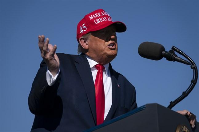 USA:s tidigare president Donald Trump har överlämnat sina deklarationer som en åklagare på Manhattan i New York länge krävt. Arkivbild.